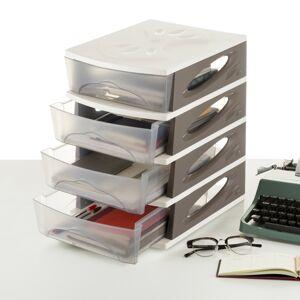 Pořadač MEDYA BOX, 26,5 x 35 x 39, taupe